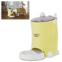 Cute Automatic Pet Feeder Dog Cat Food Auto Dispenser Programmable -animal Bowl