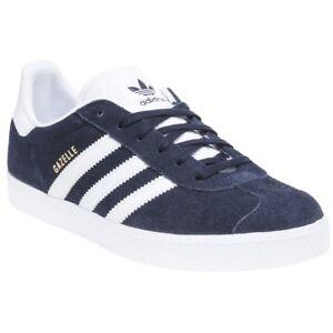 ADIDAS Boys Gazelle Trainers Blue   eBay