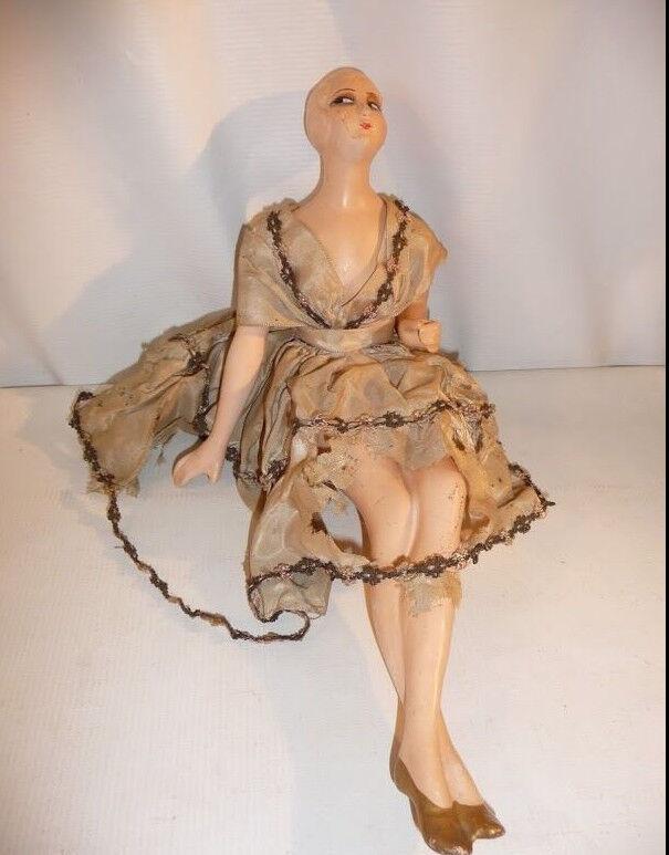 Femme articulée Jouet Poupée pour enfant Epoque 1900