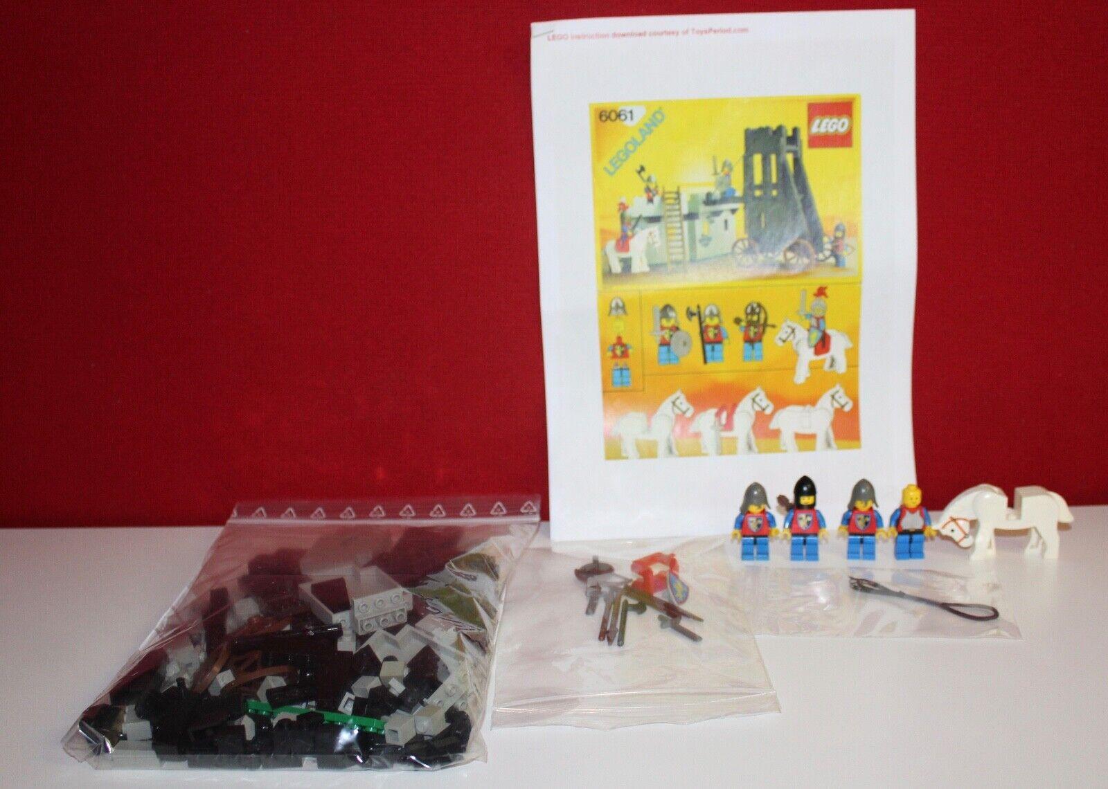 Lego 6061 Belagerungsturm Siege Tower mit BA