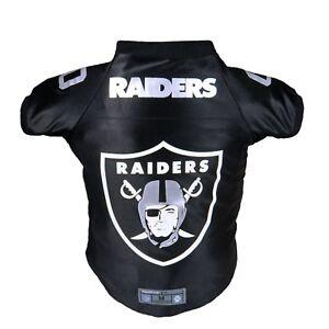 Oakland-Raiders-NFL-LEP-Dog-Pet-Premium-Black-Jersey-XS-BIG-Dog-Size