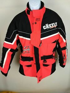 Castle Series-01 Snowmobile Racing Jacket Pre-Owned M, Great Condition