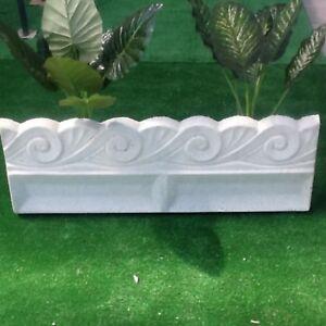 Bordura in cemento cordolo recinzione per aiuole aiuola for Bordure aiuole offerte