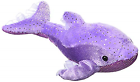 Dollyphin Lavender Small Aquatic Stuffed Animal by Aurora Plush 04126