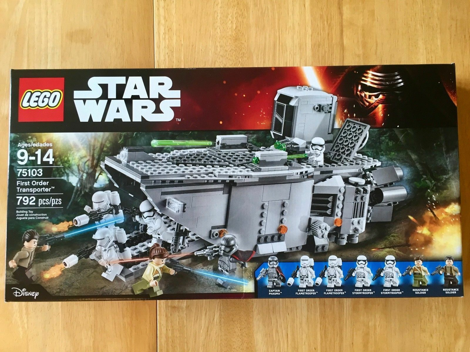LEGO 75103 Star Wars First Order Transporter - New in Sealed Box
