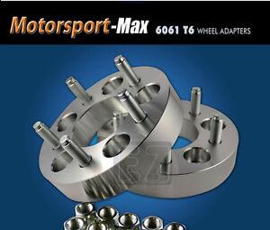 "Wheel Adapters 5 Lug 4.75 To 5 Lug 5.5 Spacers 5x4.75//5x5.5 1/"""