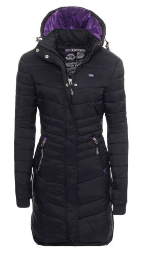 Geographical Norway Carless Inverno Cappotto Giacca Coat Parka steppmantel