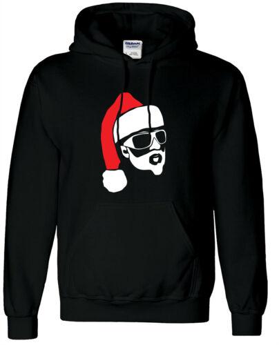 Hipster Santa Style Jumper cotton Heavy Blend Australian seller warm Christmas A