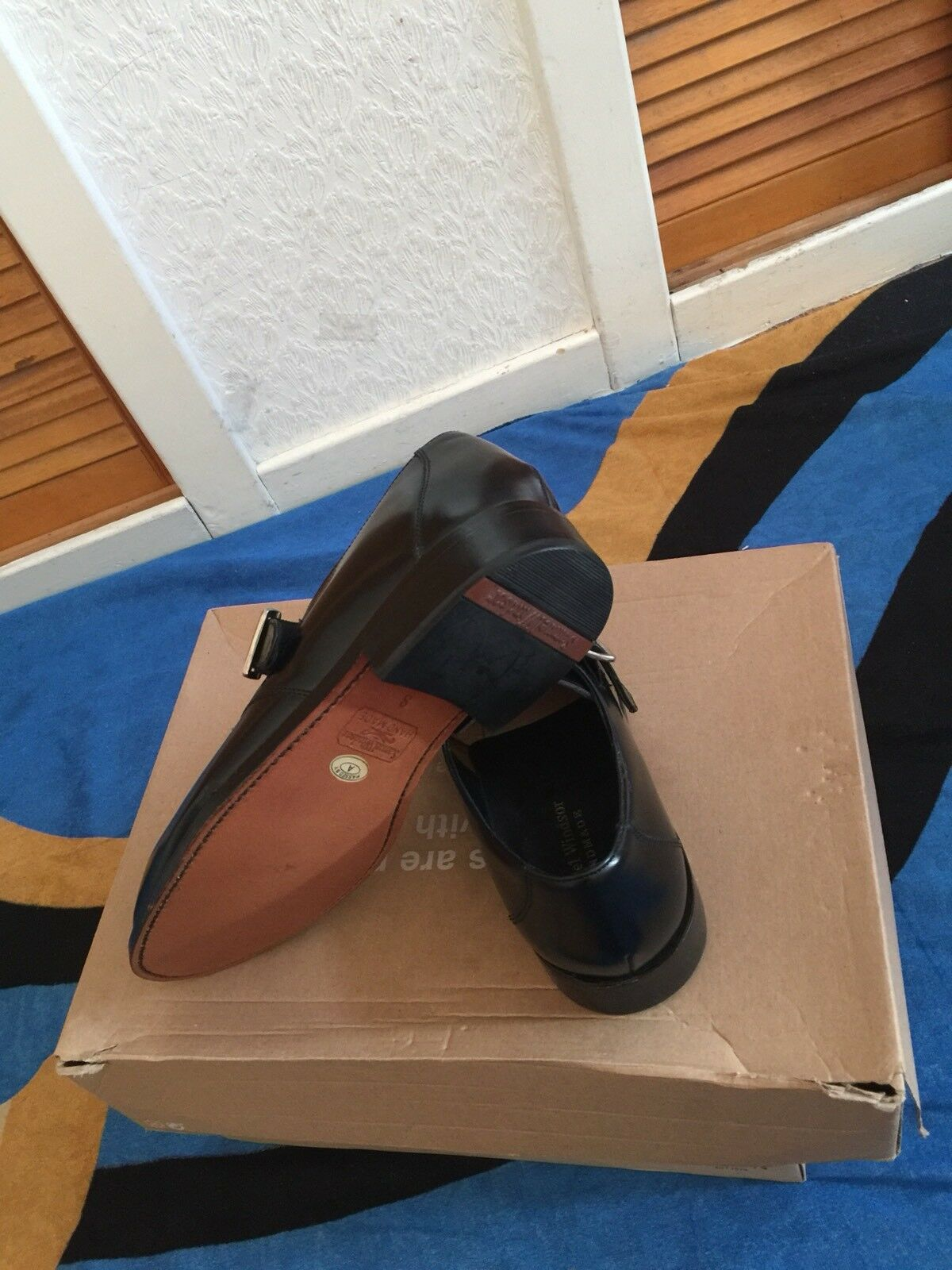 Samuel Windsor MENS Special Occasions Leather shoes Size U.K 8 Used