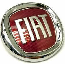 Fregio Stemma Logo Rosso Fiat Posteriore Per Fiat Sedici Dal 2006 > Diametro85mm