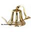 Antique-Brass-Wall-Bell-Vintage-Ship-039-s-School-Pub-Last-Orders-Dinner-Door-8-inch thumbnail 3