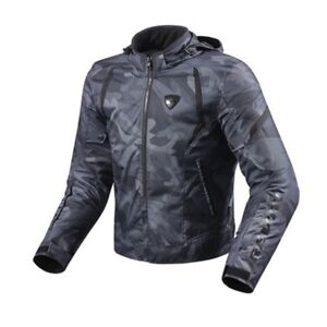Prudent Giacca Uomo Moto Rev'it Revit Flare Nero Black Jacket Moins Cher