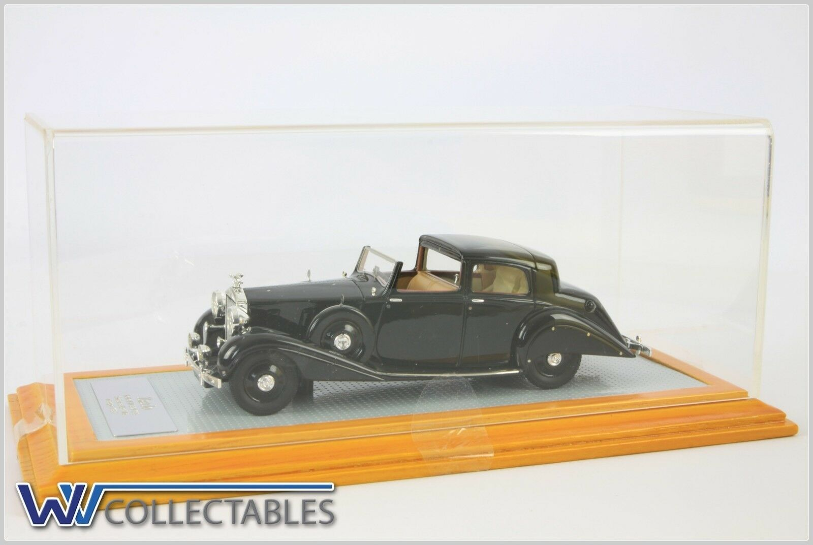 Ilario Rolls R Plll IL052 Sedance de Ville Hooper 1937 Limited 99 Pieces 1 43