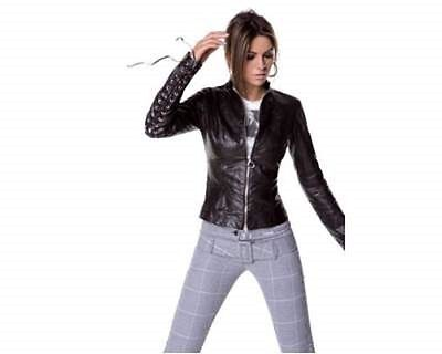 denny rose giacca pelle