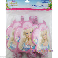 Barbie Island Princess Blowouts (8) Birthday Party Supplies Favors Tropical