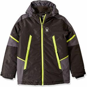 Spyder-Boys-Big-City-to-Slope-Jacket-Ski-Snowboard-Winter-Jacket-Size-L-14-16