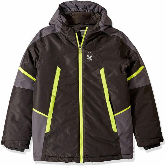 Spyder Boys Big City to Slope Jacket,Ski Snowboard Winter Jacket, Size L(14/16)