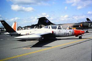 2-97-2-Fouga-CM-170R-Magister-French-Air-Force-312-TM-544-Kodachrome-SLIDE