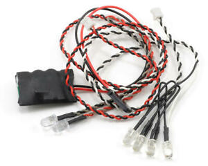 NEW Axial Simple LED Controller w//LED lights 4 WHT//2 Red FREE US SHIP