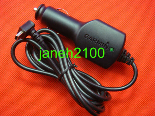 Genuine Garmin GPS Nuvi 200 1200 1A Car Vehicle Power Charger Adapter Cord Cable