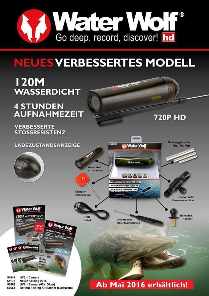 Waterwolf 1.1 Actioncam Water 4 Wolf HD Unterwasserkamera 4 Water Std. filmen ce717c
