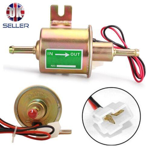 12V BENZINA DIESEL GAS Pompa Carburante UNIVERSALE Inline Pompa elettrica HEP-02A
