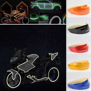 5M-Bike-Car-Motorcycle-Wheel-Rim-Reflective-Sticker-Tape-Luminous-Warning-Decal