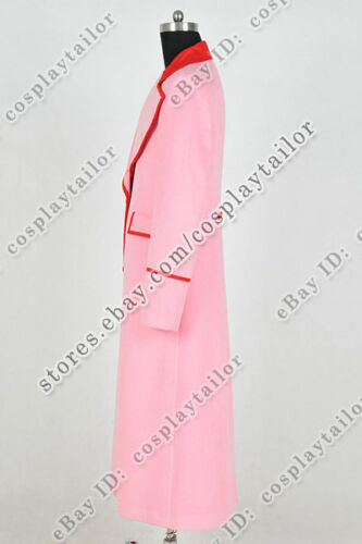 Details about  /Who Cosplay Doctor Costume Dr Pink Trench Coat Overcoat High Quality Popular