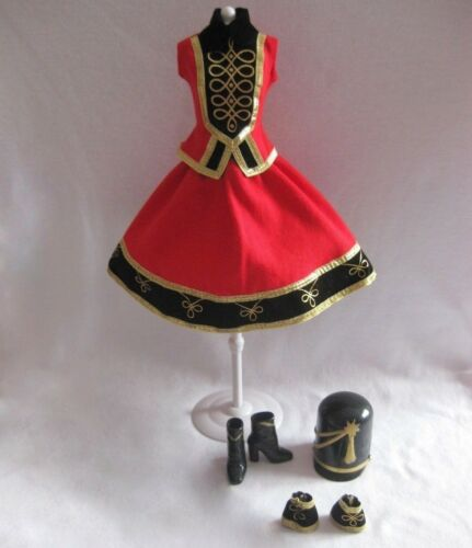 NEW Barbie FAO Schwarz Toy Soldier Holiday Doll Outfit ~ Model Muse Clothing