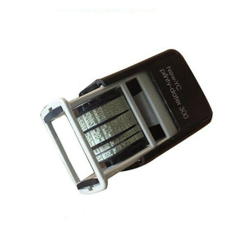 Mini Date Stamp Self-Inking Rubber Stamp Stationery Business Office Supplies