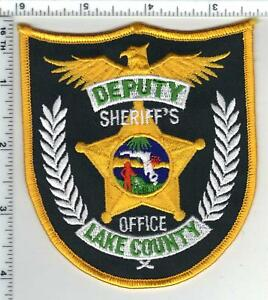Details about Lake County Sheriff's Office (Florida) shoulder patch - new