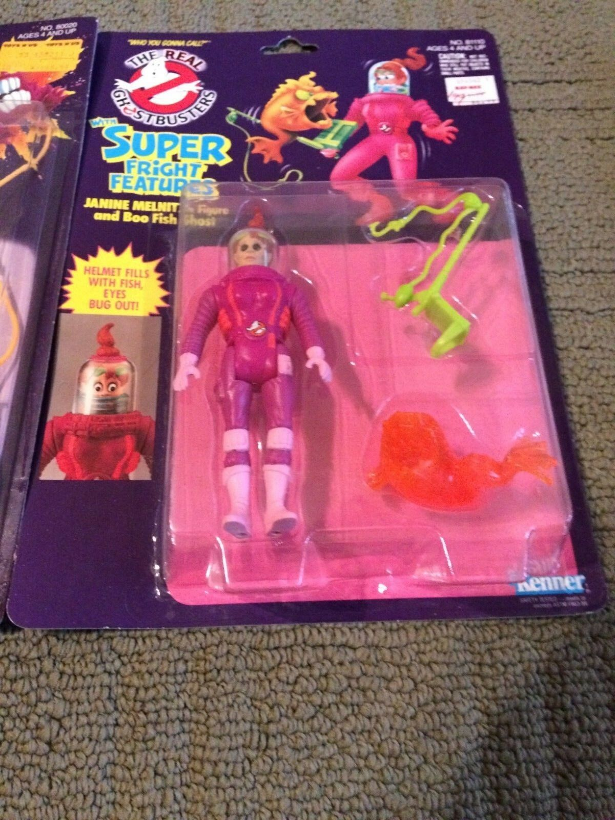 1989 KENNER DEN REALA GHOSTBRUKAREN SUPER FEATURER JANINE MELNITZ