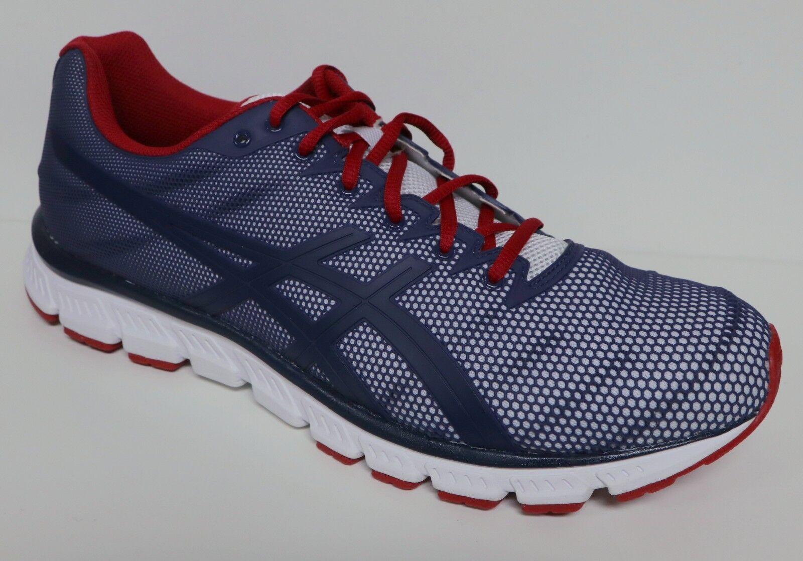 Hombres talla Asics JB Elite TR talla Hombres 14 Dark navy azul blanco rojo zapatos zapatillas abab9c
