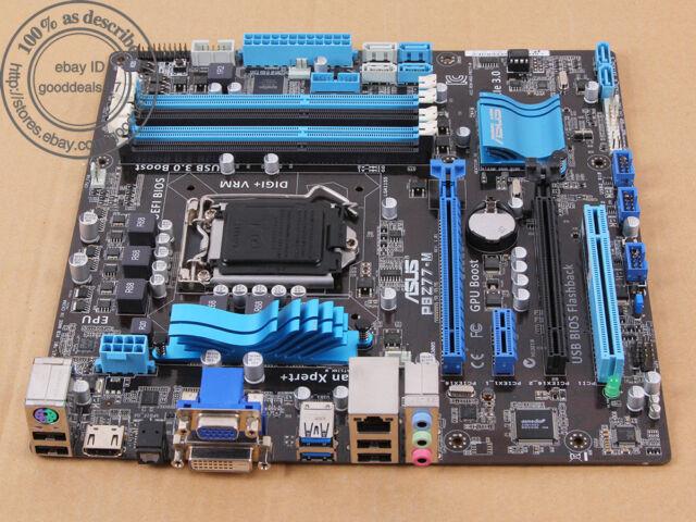 Original ASUS P8Z77-M, LGA 1155/Sockel H2, Intel Z77 Motherboard DDR3