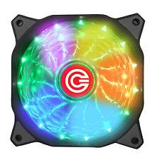 Circle CG 16X7C- Multi Colour Silent 7 Colour LED Breathing Computer Case Fan