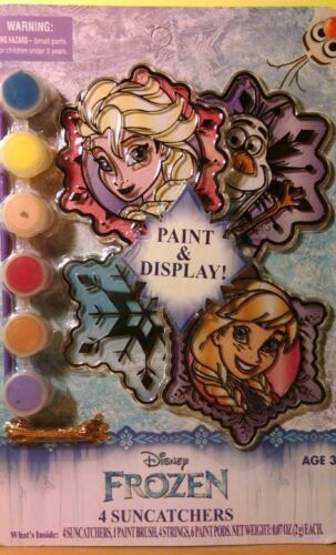 New 2016 Frozen 4 Suncatchers Paint /& Display Boys /& Girls 3 yrs