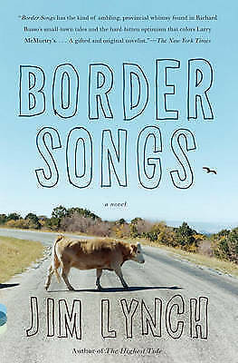 1 of 1 - Border Songs (Vintage Contemporaries)-ExLibrary