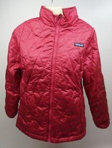 ec00fb8e4 Patagonia Girls  Nano Puff Jacket Winter Coat Craft Pink Size XL 14 ...