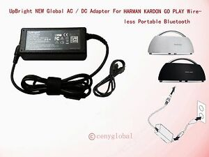 Details about 24V AC/DC Adapter For harman/kardon GO+PLAY Bluetooth Speaker  Dock Power Charger