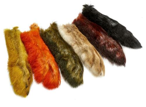 Patagonian Hares FeetLike SnowshoeChoice of Colours For Fly Tying