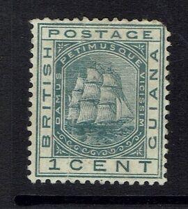 British-Guiana-SG-170-Mint-Hinged-Hinge-Remnant-sm-Page-Remnant-Lot-120416