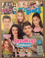 J-14 Breakup Bombshells Zayn 1D Free Poster Ariana May/June 2015 FREE SHIPPING!
