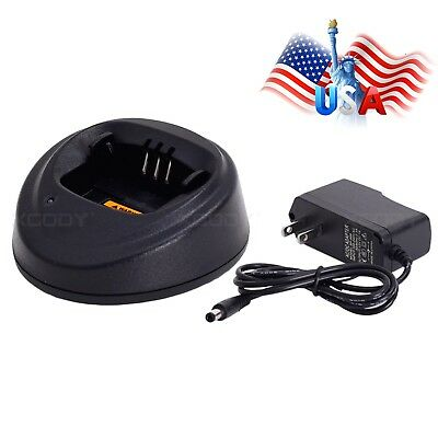 US Stock Desktop Charger For Motorola Radio EP450 CP040 CP360 CP150 PR400 GP3688