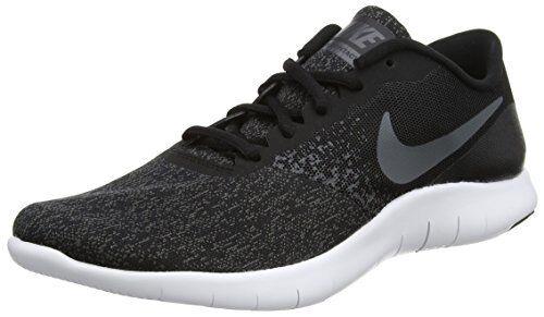 Shoes Nike Flex Contact 908983 002 Man Black White Knit Mesh Sneakers Casual