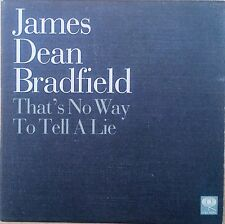 James Dean Bradfield (MANICS) - That's No Way To Tell A Lie Promo CD Single (CD)