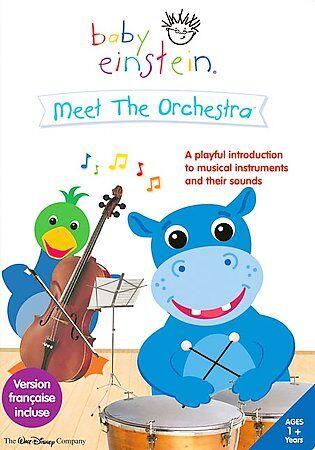 Baby Einstein Meet The Orchestra - First Instruments DVD, 2006  - $1.75