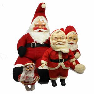 Vintage-Collectible-Santa-Figurines