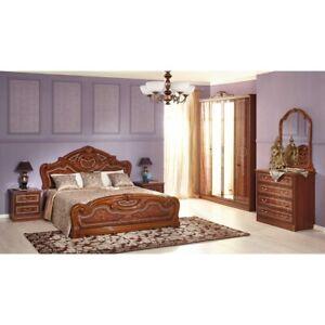 Details zu Barock Schlafzimmer 6 Teile Set \