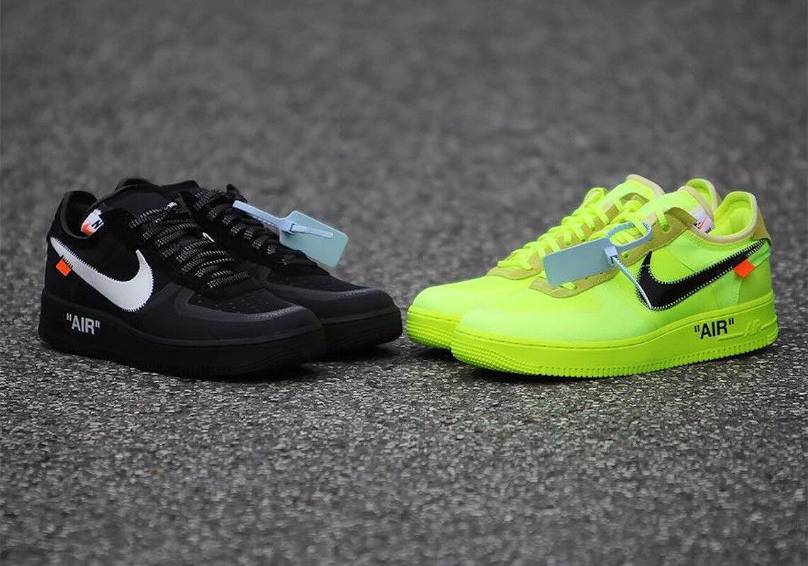 Nave ora 2018 2018 2018 Bianco Sporco x Nike Air Force 1 Basse 10.5 AO4606 001-Black | Il colore è molto evidente  | Prestazioni Superiori  | Qualità E Quantità Garantita  | Maschio/Ragazze Scarpa  | Gentiluomo/Signora Scarpa  | Uomini/Donne Scarpa  836463