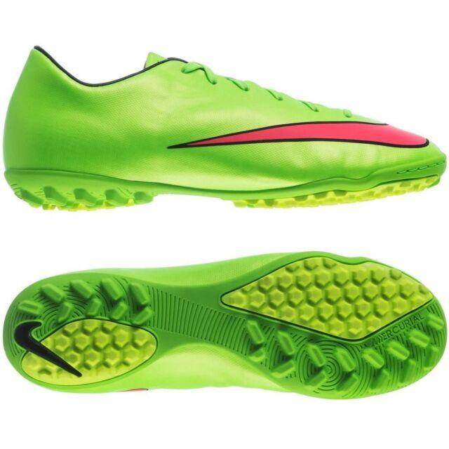 relajarse Digno Objetor  Nike Mercurial Victory IV TF Turf Soccer SHOES 2014 Brand New Neon Green /  Red   eBay